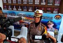 Kasat Lantas Polrestabes Medan, AKBP Juliani Prihartini.