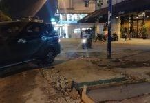 Proyek Drainase Dinas Pekerjaan Umum Kota Medan di Jalan Multatuli Medan. (Foto: Irwan Sitorus/kaldera)