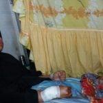 Ibu Susanti dan anaknya Kana Rizky Ramadhan menjadi korban begal.