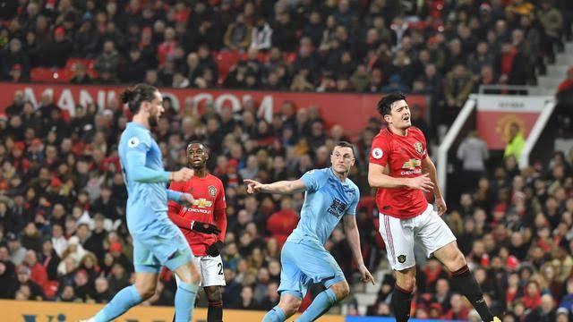 Manchester United vs Burnley.
