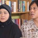 Ria Irawan dan suami saat diabadikan beberapa waktu lalu. (caldera/ist)