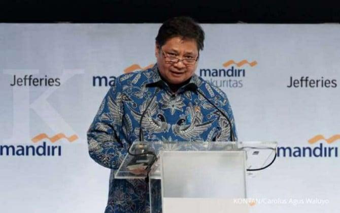 Menteri Koordinator (Menko) Bidang Perekonomian Airlangga Hartanto