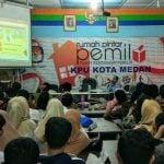 Banyak Berkas Diterima, KPU Medan Libatkan Tenaga Tambahan