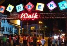 Bongkar Merdeka Walk, Pedagang Buku Pindah