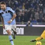 Lazio hanya butuh dua menit untuk unggul 1-0 atas tuan rumah Genoa.