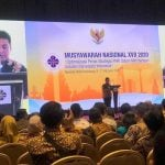 Ketua ViWI Nusantara 2020 yang juga Ketum PHRI Demisioner, Hariyadi Sukamdani,