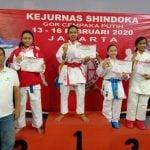 Shindoka Sumut Boyong 26 Medali dari Kejurnas Shindoka 2020.