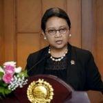 Menteri Luar Negeri, Retno Marsudi.