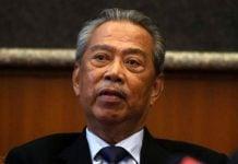 Perdana Menteri baru Malaysia Muhyiddin Yassin. (thestar.my)
