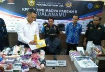 Kantor Bea dan Cukai Kuala Namu menyita bawaan penumpang yang berisi alat bantu seks atau sex toys.