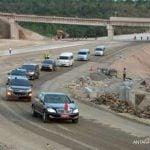 Presiden Joko Widodo (Jokowi) menargetkan ruas jalan tol Sigli - Banda Aceh seksi 4 bisa beroperasi pada lebaran tahun ini.