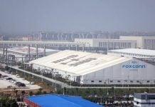 Foxconn melakukan aktivitas kembali.