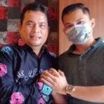 Pelaku penyebar hoax Virus Corona menemui Kepala Dinas Kesehatan Sumut.