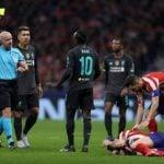Kekalahan Liverpool atas Atletico Madrid, Rabu (19/2/2020).