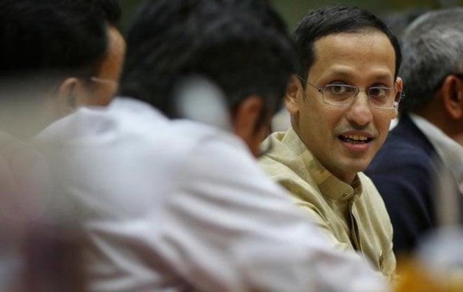 Menteri Pendidikan dan Kebudayaan (Mendikbud) Nadiem Makarim.