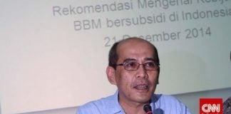Faisal Basri: Jantung Ekonomi RI Lemah.