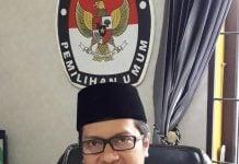 Komisioner KPU Kota Medan, Rinaldi Khair.