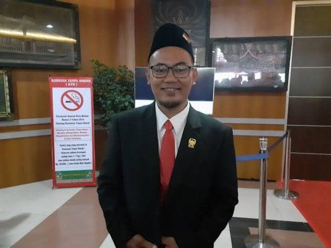 Rudiyanto, Ketua Fraksi PKS DPRD Kota Medan.