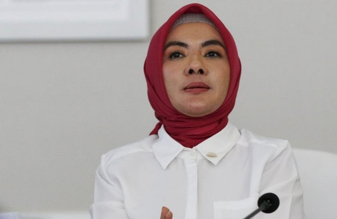 Direktur Utama (Dirut) Pertamina, Nicke Widyawati.