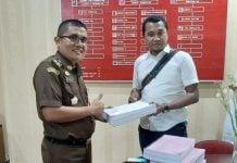 Jaksa Menerima Berkas Kasus Pembunuhan Hakim Medan.