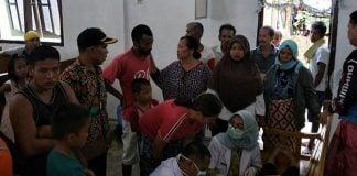82 warga Desa Pangkalan Siatak Kec. Pangkalan Susu Kab. Langkat, keracunan makanan usai menyantap makanan dari olahan daging babi.