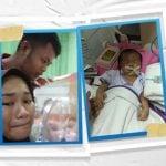 Shafa Rumana Putri Lubis, bayi berusia satu bulan asal Kota Binjai ini divonis mengidap penyakit infeksi paru-paru sejak lahir dan kelainan jantung.
