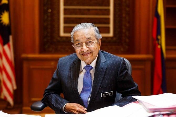 Perdana Menteri (PM) Malaysia Mahathir Mohamad