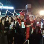 Plt. Walikota Medan, Ir. H. Akhyar Nasution, M.Si. Datang Langsung ke studio RCTI Untuk Memenangkan Lyodra Ginting si Anak Medan, menjadi Juara Indonesian Idol 2020. (pariwisatamdn)
