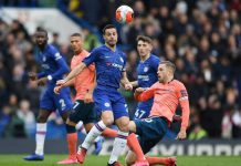 Chelsea vs Everton.