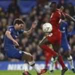 Laga Piala FA, Chelsea vs Liverpool. (ist)