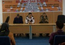 Calon PPS Pilkada Medan Ikuti Tes Wawancara