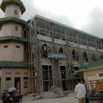 Renovasi Mesjid Nurul Islam di Jln M. Nawi Harahap.