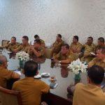 Rapat Pimpinan OPD dan Para Camat se-Asahan.