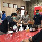 Langka di Tengah Pandemi Corona, Polda Sumut Racik Hand Sanitizer Sendiri