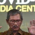 Juru Bicara Pemerintah Khusus Penanganan Corona, Achmad Yurianto