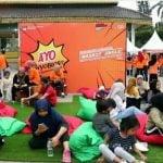 Jelang pemilihan Walikota dan Wakil Walikota Medan tahun 2020, KPU Kota Medan mengadakan sosialiasi serta launching Maskot dan Jingle Pilkada 2020, Minggu (1/03/2020) di Lapangan Merdeka Medan.