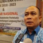 Ketua Asosiasi Perusahaan Perjalanan Wisata Indonesia (Asita) Sumut, Solahuddin Nasution