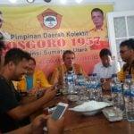 Salah satu pemilik suara, ormas pendiri Partai Golkar, PDK Kosgoro 1957 absen dalam Musda Golkar Sumut pada 24 Februari 2020, di JW Marriott Medan.