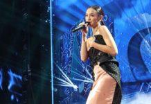 Lyodra Ginting dalam panggung Result & Reunion Indonesian Idol X. (ist)