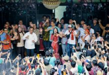 Lyodra Ginting ketika mendatangi Balai Kota Medan, Jumat (6/3/2020).
