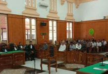 Sidang kasus suap Walikota Medan Non Aktif Dzulmi Eldin kembali digelar dengan agenda keterangan saksi-saksi.