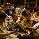 Wakil Gubernur (Wagub) Sumut Musa Rajekshah saat membuka rapat koordinasi (Rakor) Program Pembangunan dan Pemberdayaan Masyarakat Desa (P3MD) di Hotel Le Polonia Jalan Sudirman Medan, Selasa (3/3/2020).