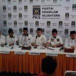 Soft Launching Calon Walikota, di Kantor DPW PKS Sumut, Medan, Kamis (12/3/2020).