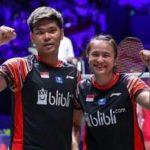 Pasangan ganda campuran Indonesia Praveen Jordan/Melati Daeva Oktavianti berhasil menjuarai All England 2020.