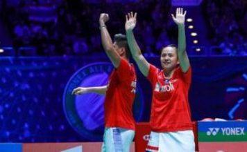 Ganda campuran Indonesia, Praveen Jordan/Melati Daeva Oktavianti berhasil jadi juara All England 2020,