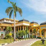 Salah Satu Ikon Kota Medan, Istana Maimun di Tutup Selama 14 Hari Upaya Penyebaran Virus Corona.