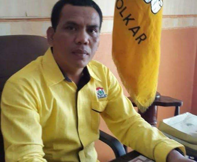 Ketua DPD Partai Golkar Binjai, Zainuddin Purba.