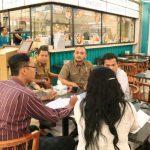 Badan Pengelolaan Pajak dan Retribusi Daerah (BPPRD) Kota Medan mendatangi Restoran Uncle K di lantai IV Sun Plaza, Selasa (3/3/2020).