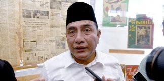 Gubernur Sumatera Utara (Gubsu) Edy Rahmayadi.
