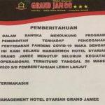Hotel Syariah Grand Jamee.